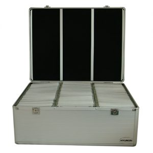 Aluminium DVD Koffer kopen
