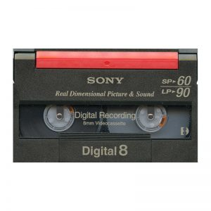 Digital 8 cassettes digitaliseren