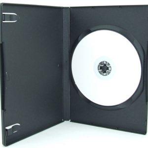 Zwarte DVD doosje kopen