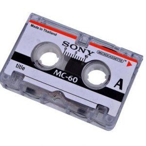 Micro audio cassettes digitaliseren