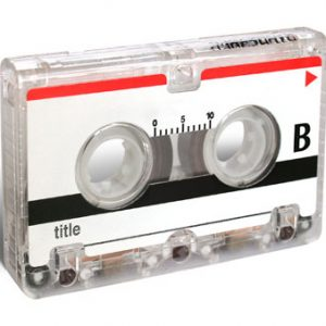 Mini audio cassettes digitaliseren