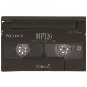 Video8 cassette digitaliseren