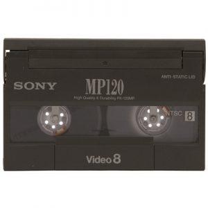 Video8 cassette digitaliseren