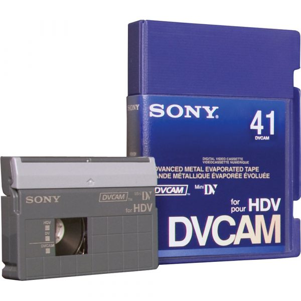 DVCam cassettes digitaliseren