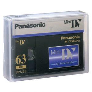 Mini dv cassette overzetten