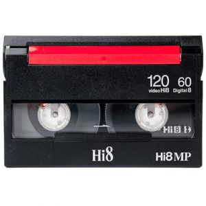 HI8 cassette digitaliseren