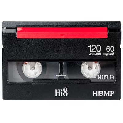 HI8 cassette digitaliseren
