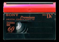 Mini dv cassette overzzetten